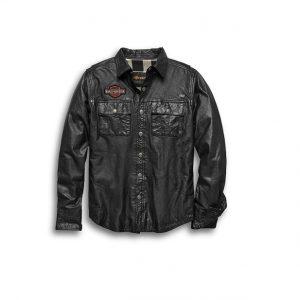 Harley-Davidson bőr ing-dzseki