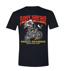 Harley-Davidson x Rusty Butcher raise the flag férfi póló
