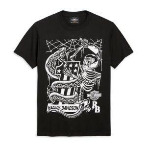 Harley-Davidson x Rusty Butcher Snake férfi póló