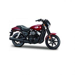 MAISTO 2015 Harley-Davidson Street 750- Burgundy