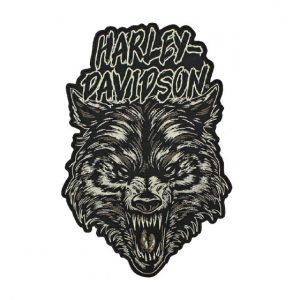 Harley-Davidson Night Wolf felvarró