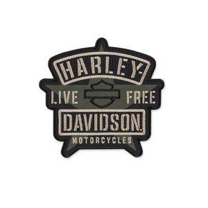 Harley-Davidson Military Star felvarró