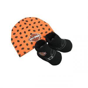 Harley-Davidson baba sapka&zokni szett