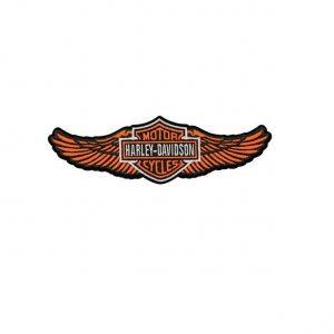 Harley-Davidson Straight Wing felvarró