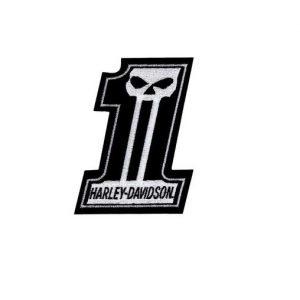 Harley-Davidson #1 Skull felvarró