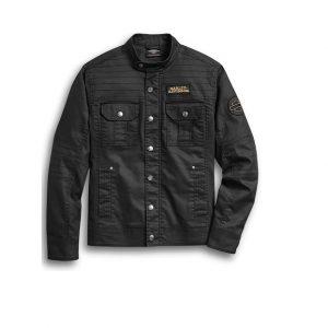 Harley-Davidson Flaming Skull farmer férfi ing-dzseki