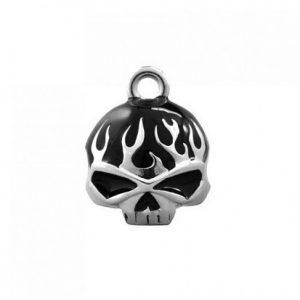 Harley-Davidson flames&skull motoros csengő