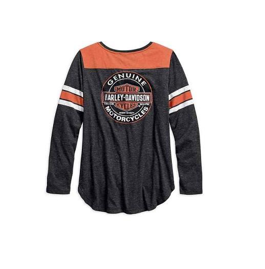 Harley-Davidson Genuine Oil Can női hosszú ujjú felső