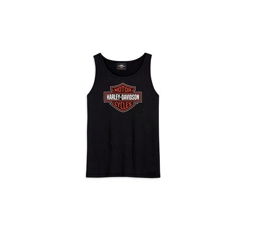 Harley-Davidson B&S logo női top
