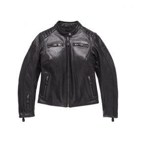 Harley-Davidson Skull #1 női motoros bőrdzseki