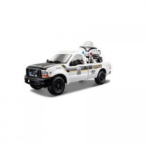 Harley-Davidson 1999 Ford F-350 Super-Duty Pickup Police makett