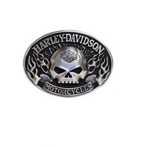Harley-Davidson Immunity Flame Willie G Skull övcsat