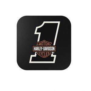 Harley-Davidson #1 w/B&S vezeték nélküli telefontöltő