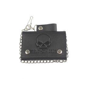 Harley-Davidson Skull Láncos pénztárca
