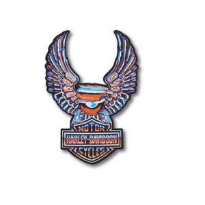 Harley-Davidson Chrome Eagle Logo felvarró