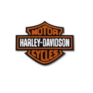 Harley-Davidson Vintage logo hímzett felvarró