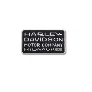 Harley-Davidson 20's Deco Font kicsi felvarró