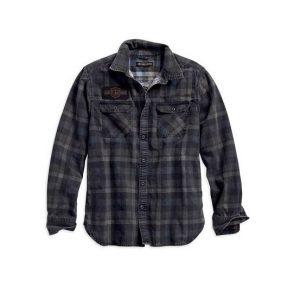 Harley-Davidson Logo férfi kockás hosszú ujjú ing