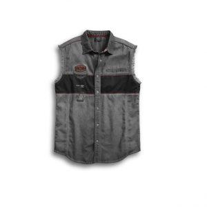 Harley-Davidson Iron Block férfi ujjatlan ing