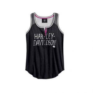 Harley-Davidson mesh női trikó