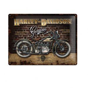 Harley-Davidson Brick Wall fémtábla