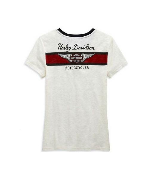 Harley-Davidson Winged Logo női rövid ujjú póló