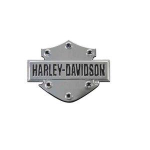 Harley-Davidson B&S 3D krómos műanyag matrica
