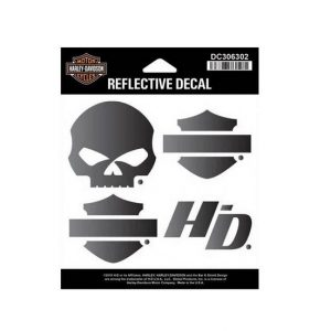 Harley-Davidson Night Rider fényvisszaverő matrica