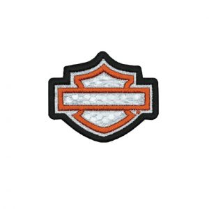 Harley-Davidson Blank B&S fényvisszaverő felvarró