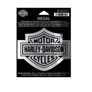 Harley-Davidson B&S króm matrica