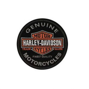 Harley-Davidson Long Bar & Shield felvarró