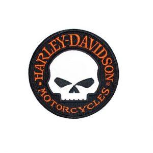 Harley-Davidson Willie G. Skull fényvisszaverő felvarró