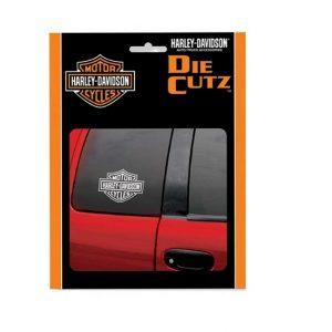 Harley-Davidson B&S fehér matrica