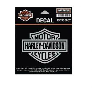 Harley-Davidson B&S ezüst matrica