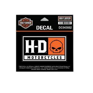 Harley-Davidson H-D Willie G Skull matrica