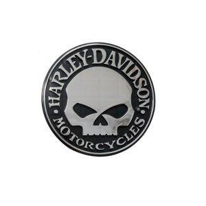 Harley-Davidson Willie G Skull 3D króm matrica