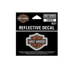 Harley-Davidson B&S fényvisszaverős matrica