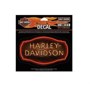 Harley-Davidson fire matrica