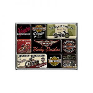 Harley-Davidson bike mágnes szett