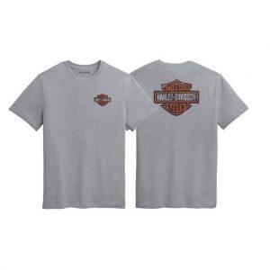 Harley-Davidson Double Bar&Shield férfi rövid ujjú póló