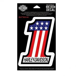 Harley-Davidson American #1 matrica