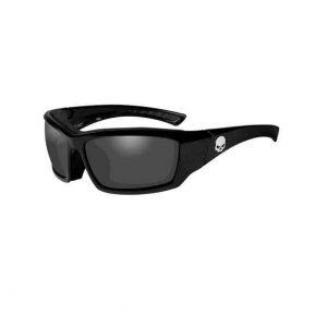Harley-Davidson skull férfi napszemüveg szürke lencsével
