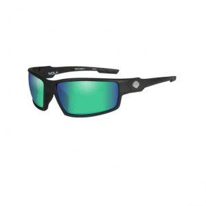 Harley-Davidson wolf B&S férfi napszemüveg zöld lencsével