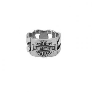 Harley-Davidson chain Bar&Shield rozsdamentes acél férfi gyűrű