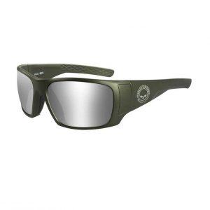 Harley-Davidson KEYS férfi napszemüveg ezüst lencsével
