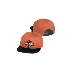 Harley-Davidson orange B&S baseball sapka