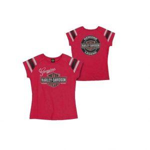 Harley-Davidson Glitter Genuine Legend lány rövid ujjú póló