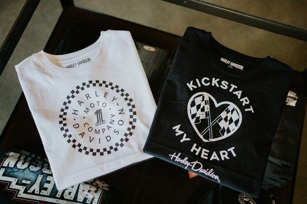 Harley-Davidson Kickstart my heart női rövid ujjú póló