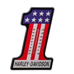 Harley-Davidson #1 Racing hőmérő