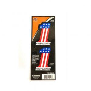 Harley-Davidson american 1 színes-fénytörő matrica